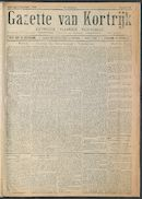 Gazette Van Kortrijk 1916-09-02