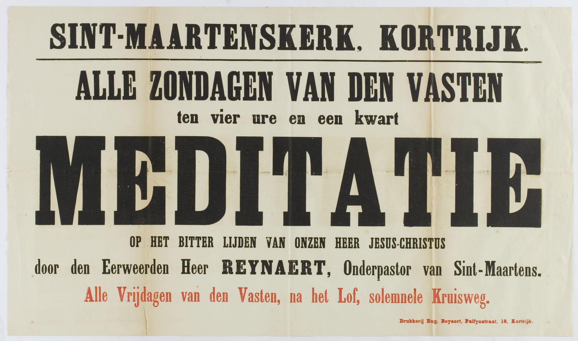 Meditatie in de Sint-Maartenskerk