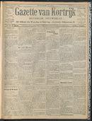 Gazette Van Kortrijk 1909-07-08
