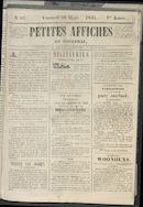 Petites Affiches De Courtrai 1841-03-26