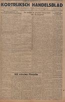 Kortrijksch Handelsblad 3 december 1946 Nr97 p1