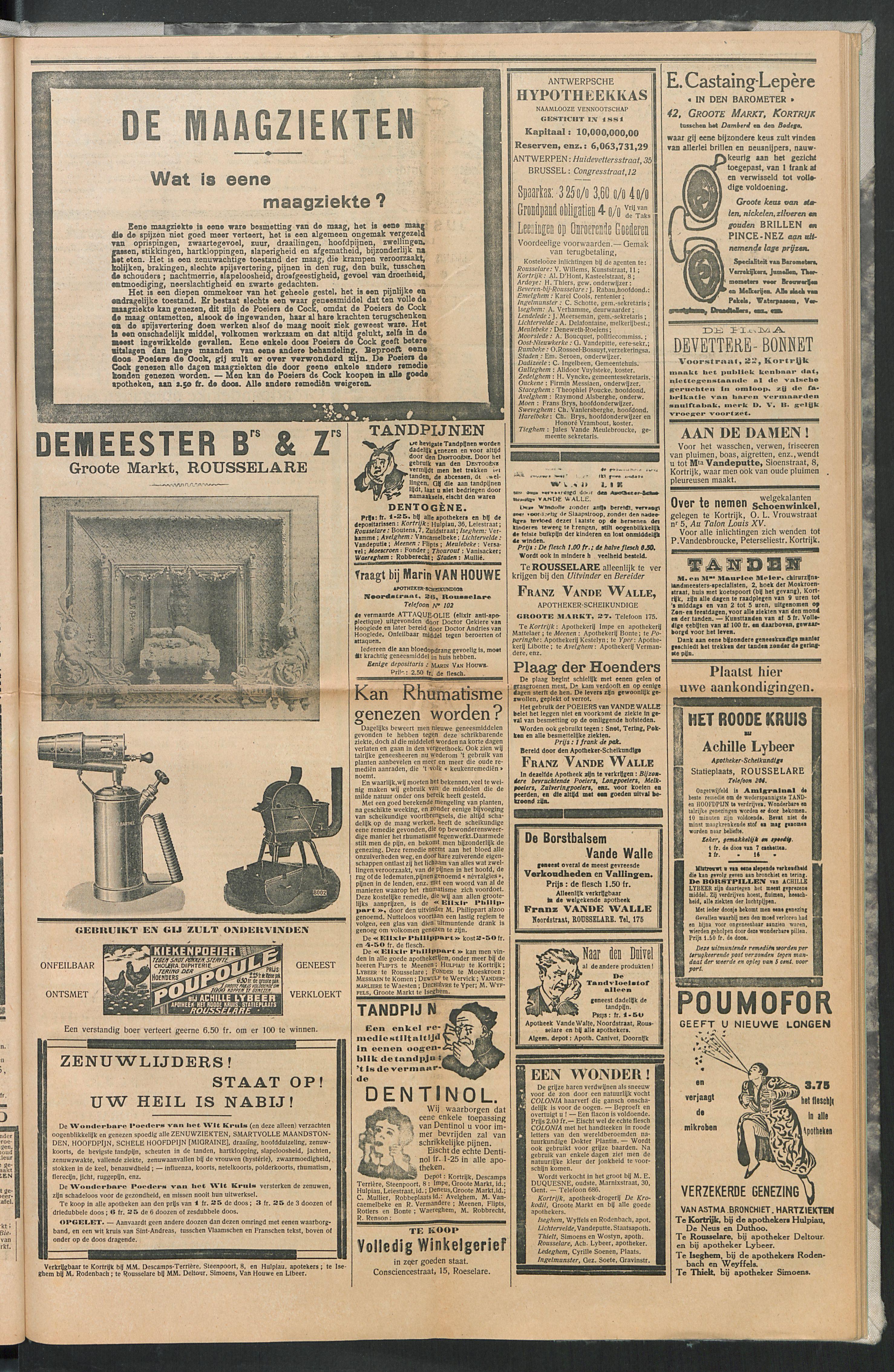 Het Kortrijksche Volk 1914-06-07 p7