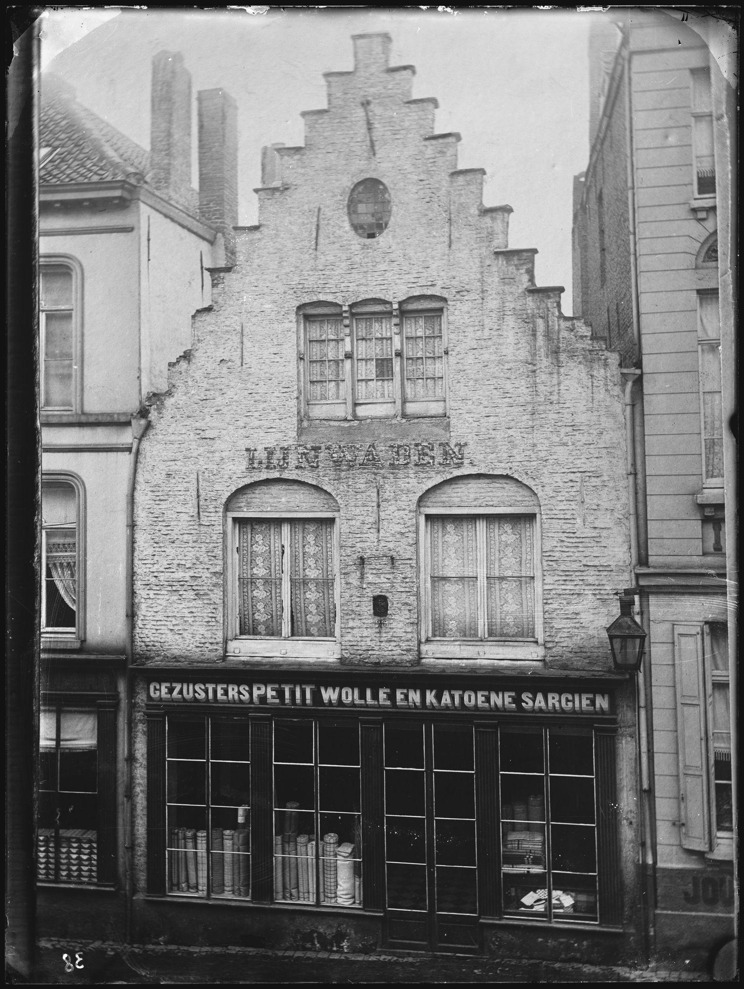 Winkel Petit in de Lange Steenstraat