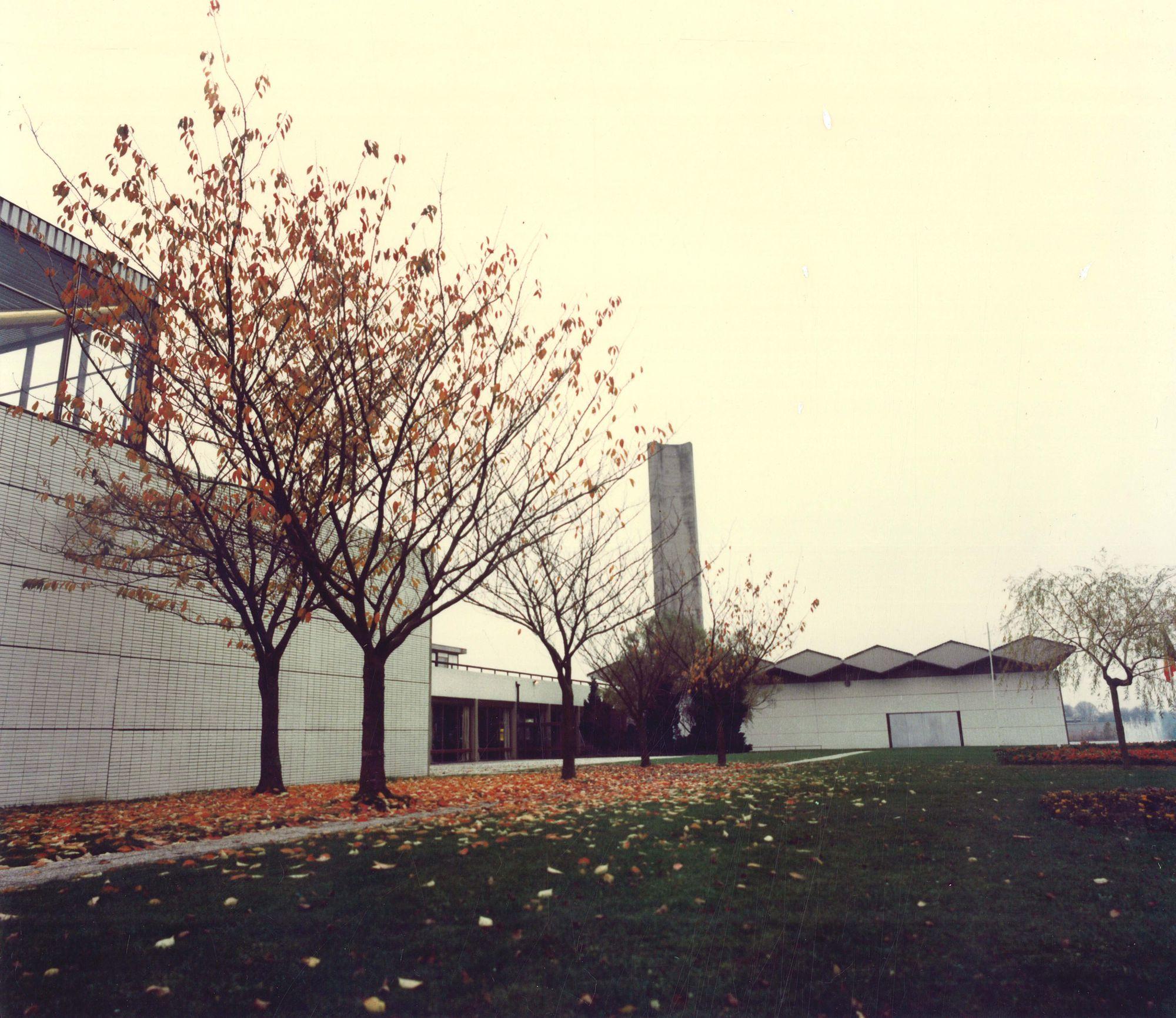 Kortrijk Expo aan de Doorniksesteenweg 1983