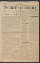 L'echo De Courtrai 1907-01-06