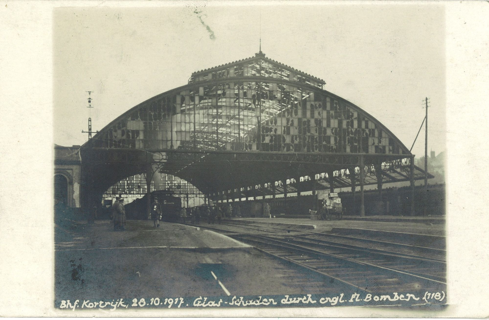 Station in 1917