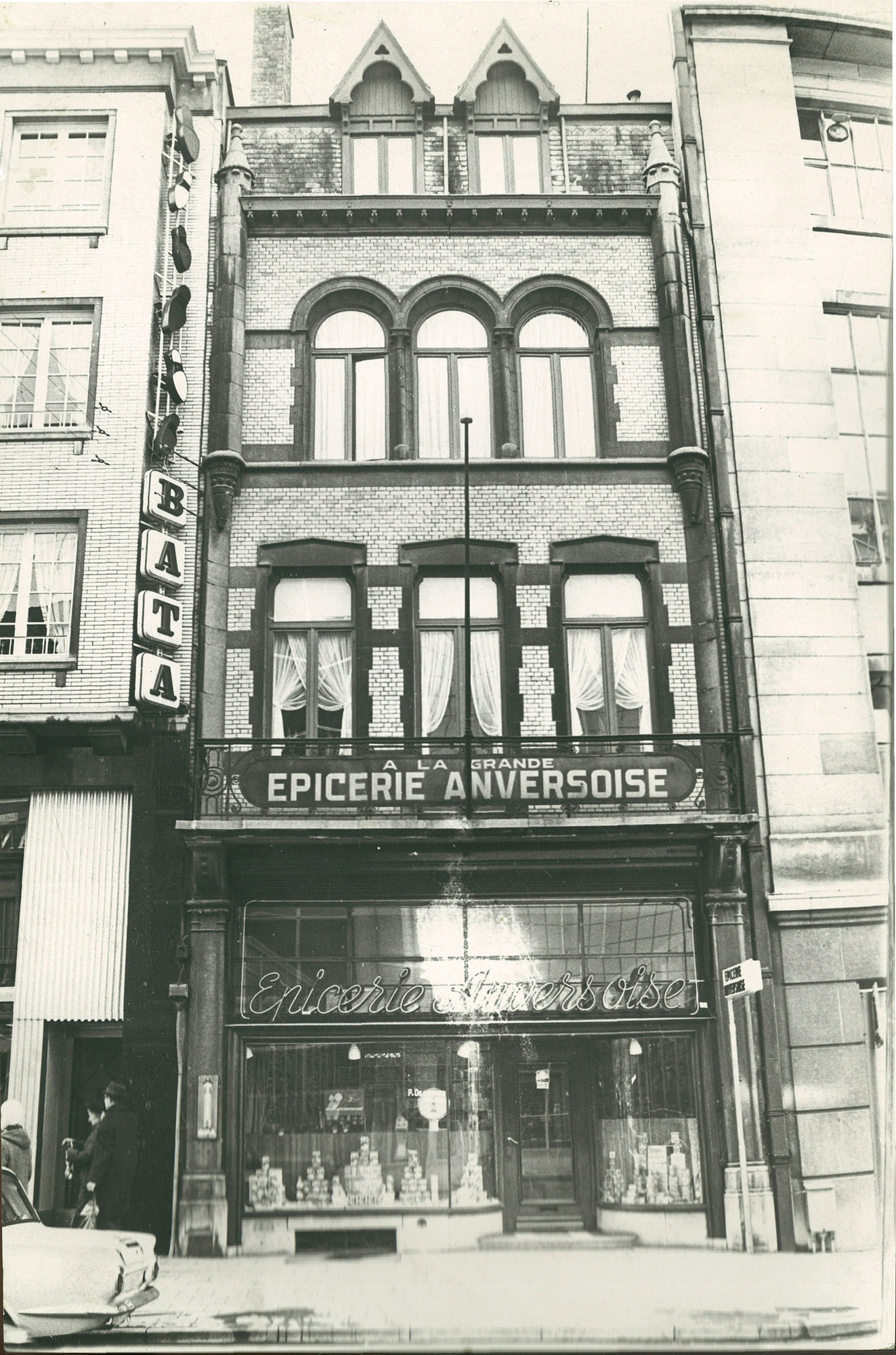 Epicerie Anversoise in de Doorniksestraat