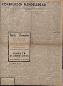 Kortrijksch Handelsblad 11 oktober 1946 Nr82