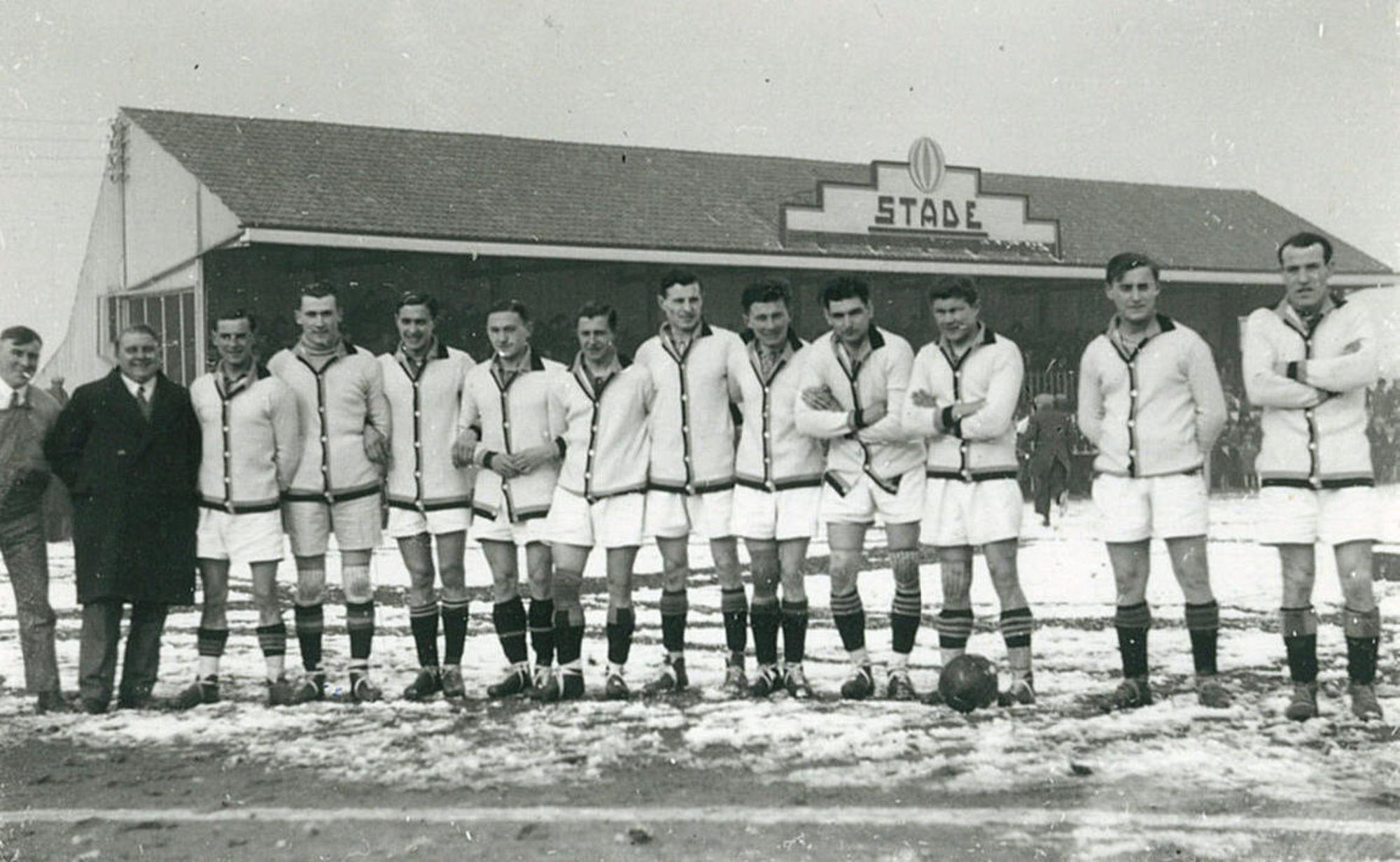 Voetbalclub Kortrijk Sport in 1934