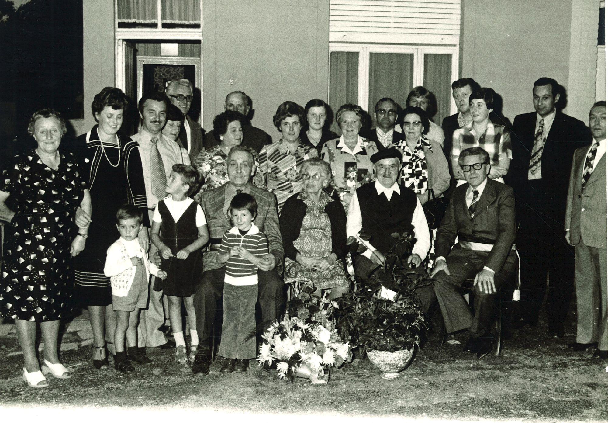 Gouden bruiloft in Wybou-Gequiere