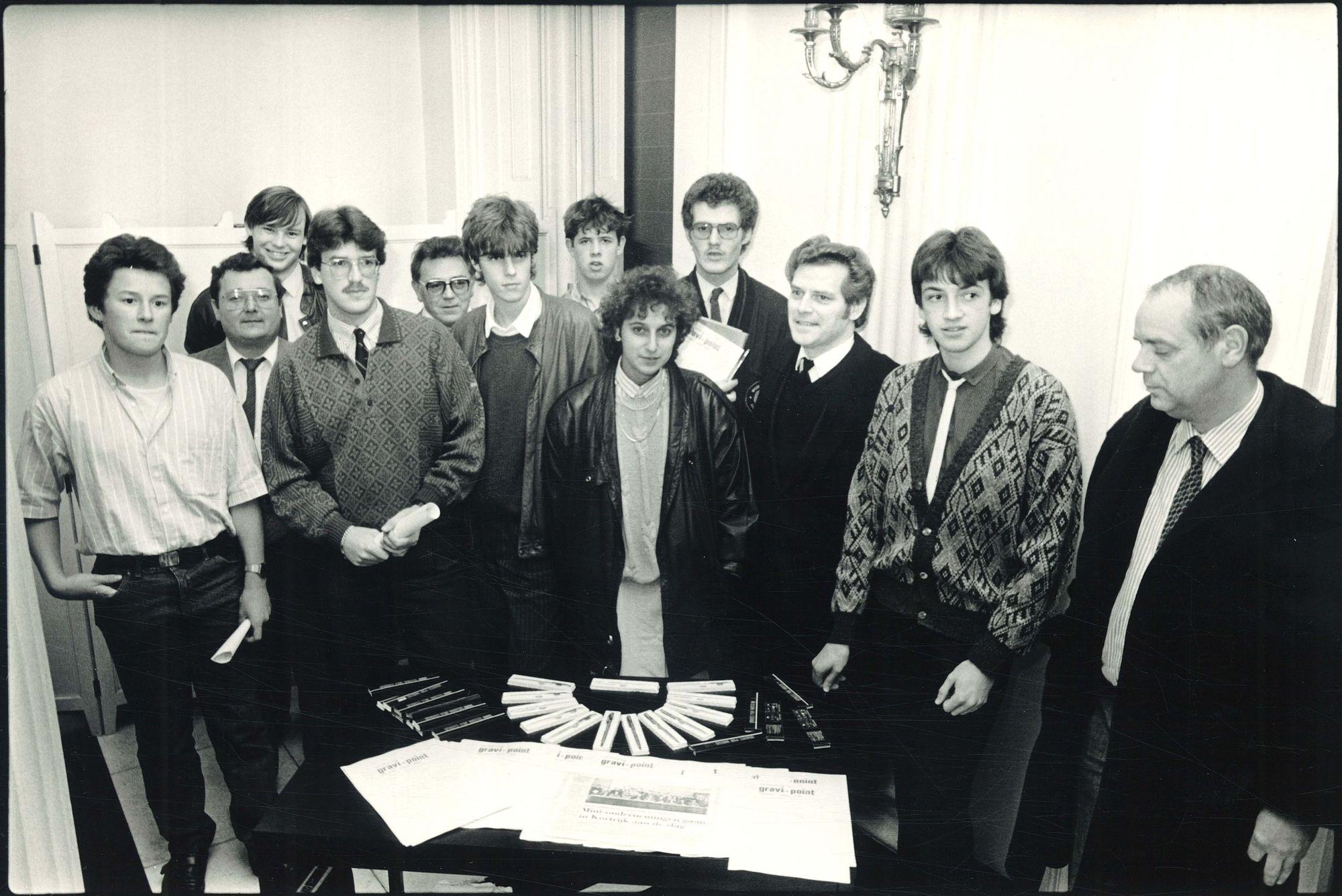 Mini-Onderneming GRAVI-POINT 1986