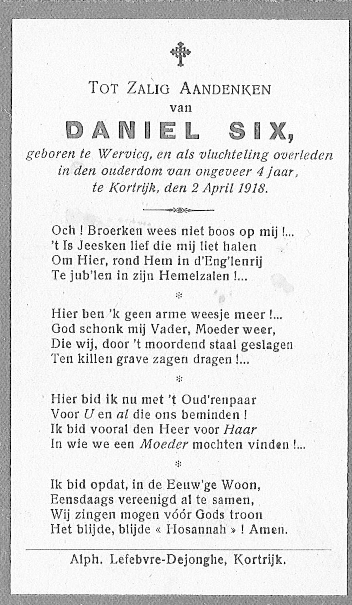 Daniel Six