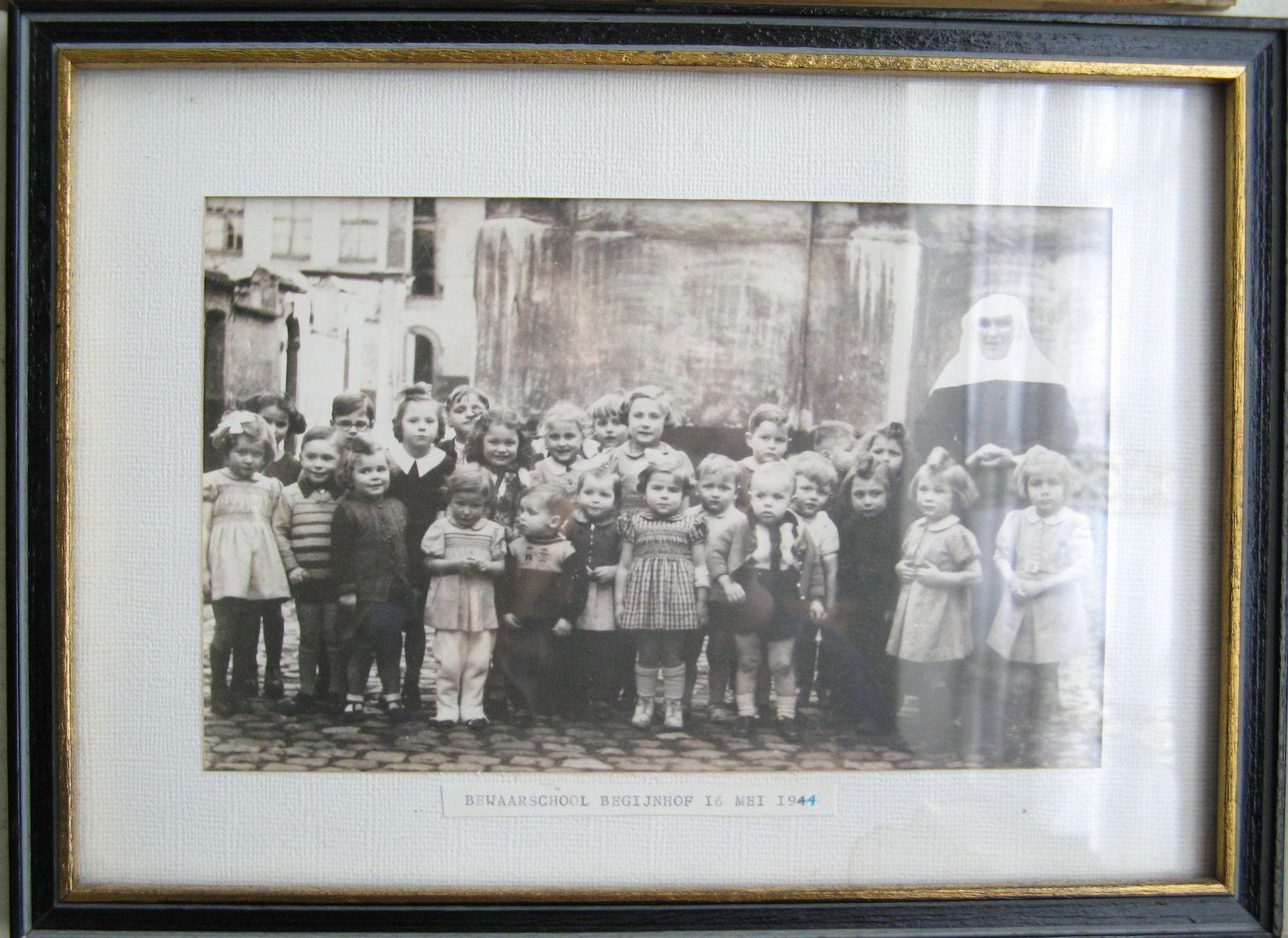 Bewaarschool van het Begijnhof 1944