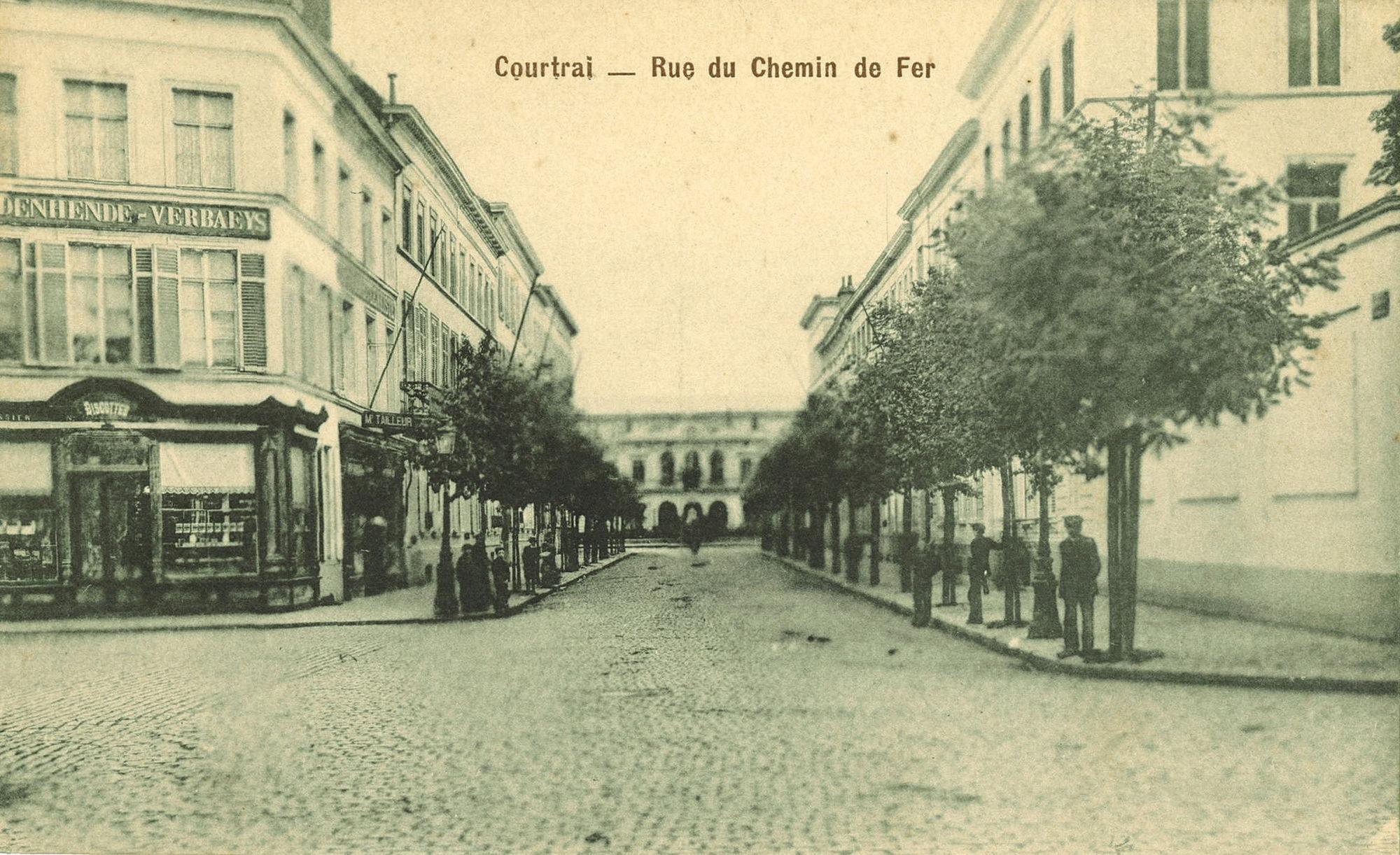 Stationsstraat - vroeger IJzerwegstraat
