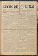 L'echo De Courtrai 1914-02-02