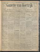 Gazette Van Kortrijk 1909-06-27