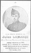 Jules Lemaire