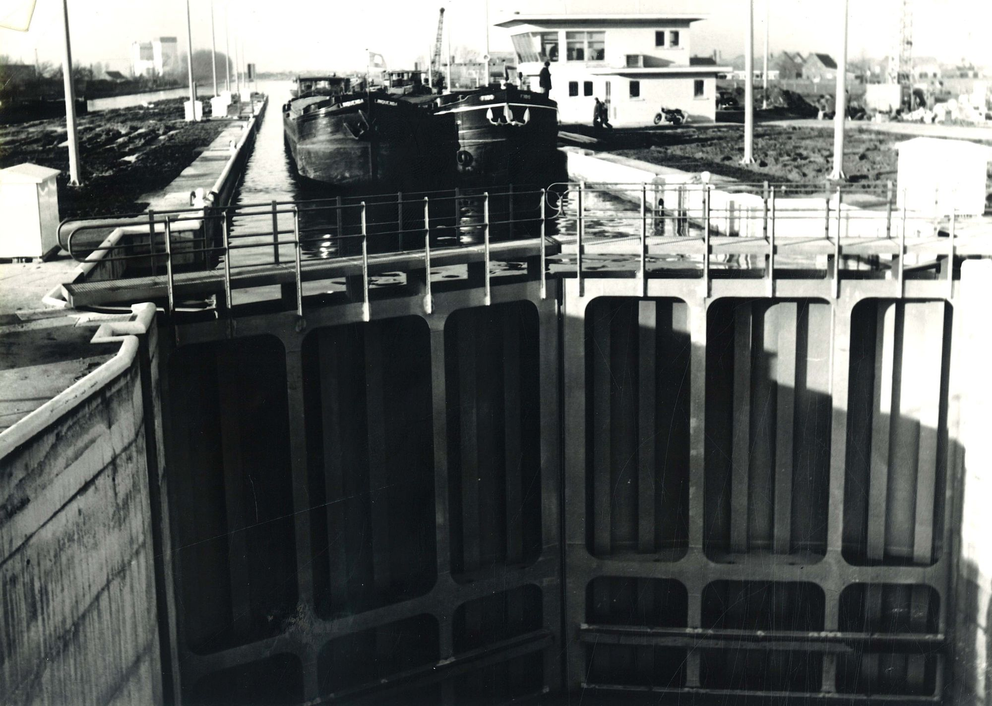 Sluis van Ooigem 1975