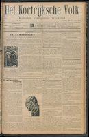 Het Kortrijksche Volk 1912-11-10