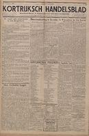 Kortrijksch Handelsblad 20 oktober 1944 Nr6 p1