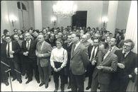 Nieuwjaarsreceptie van de Kamer van Koophandel en Nijverheid 1985