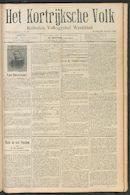 Het Kortrijksche Volk 1910-10-23