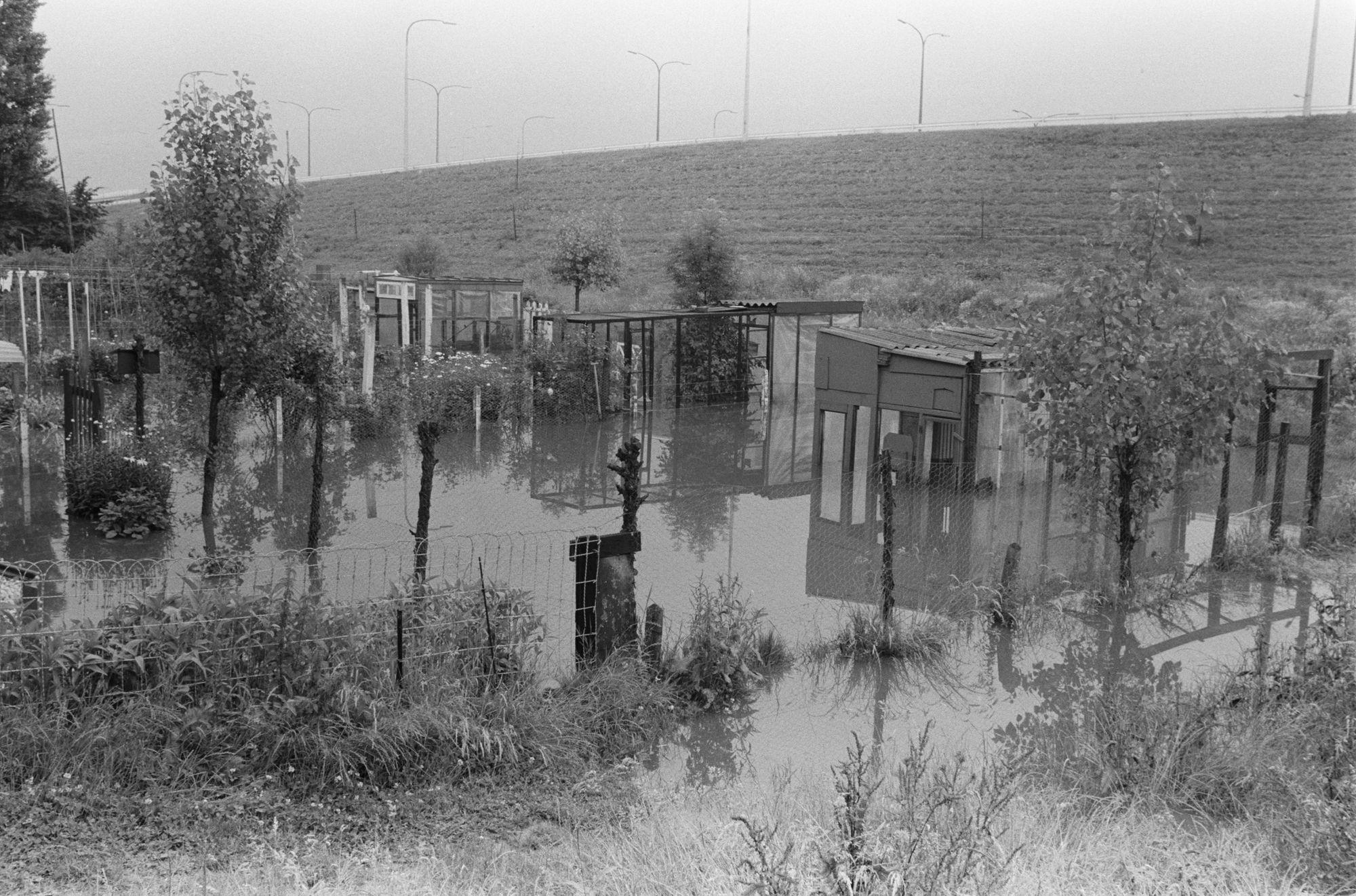 Overstroming op de Drie Hofsteden