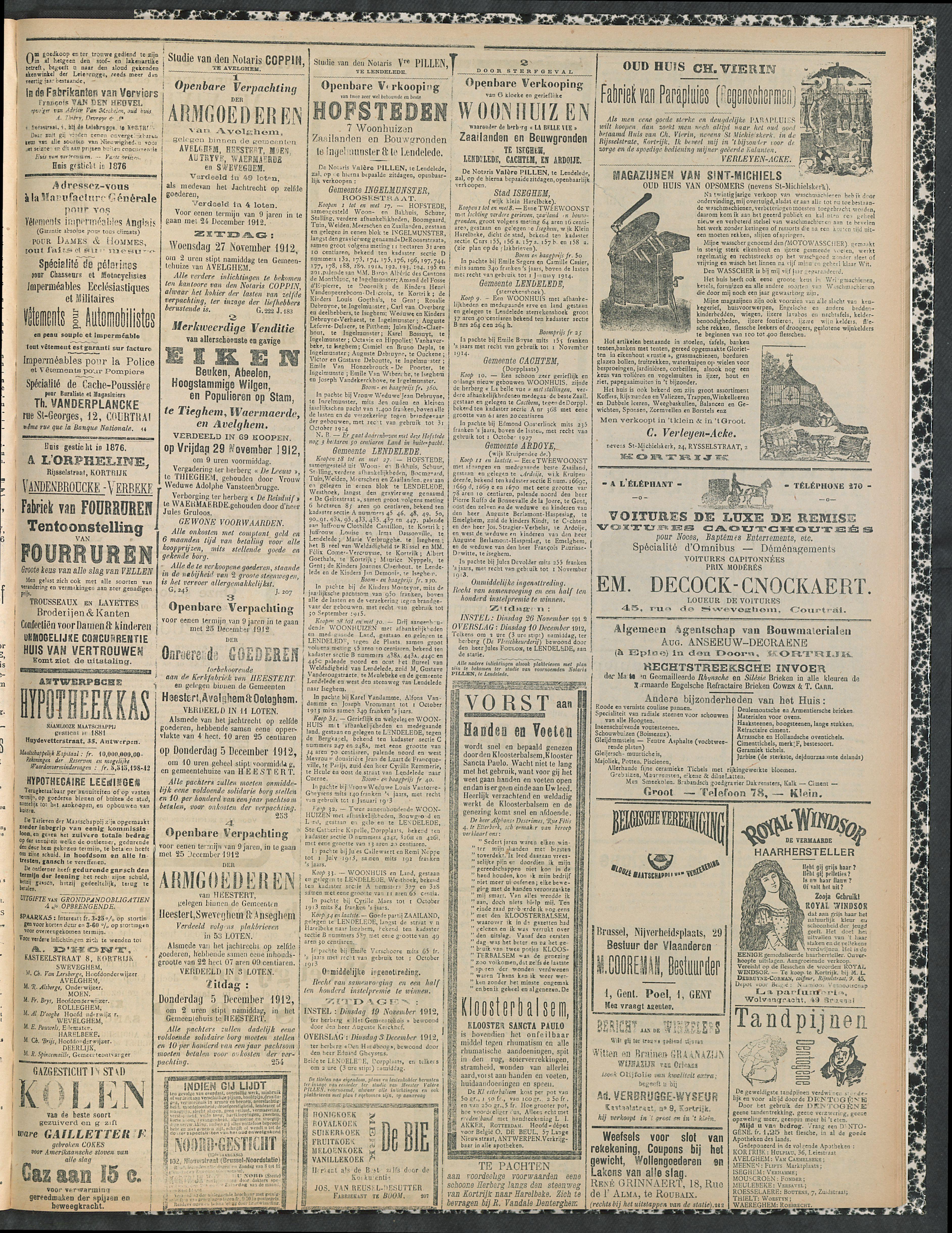 Gazette Van Kortrijk 1912-11-17 p3