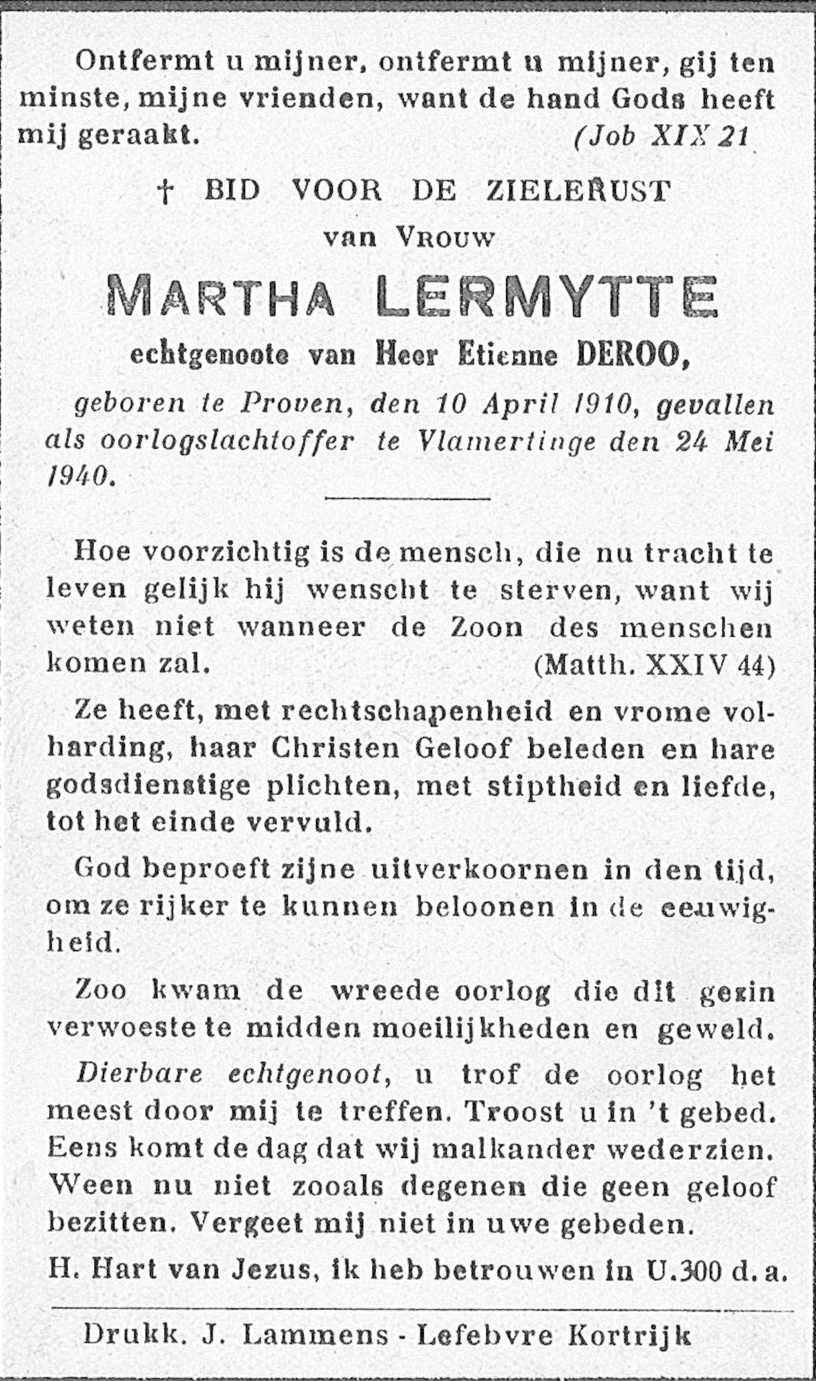 Martha Lermytte