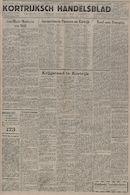 Kortrijksch Handelsblad 6 juni 1945 Nr45 p1