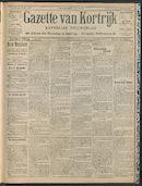 Gazette Van Kortrijk 1909-05-13