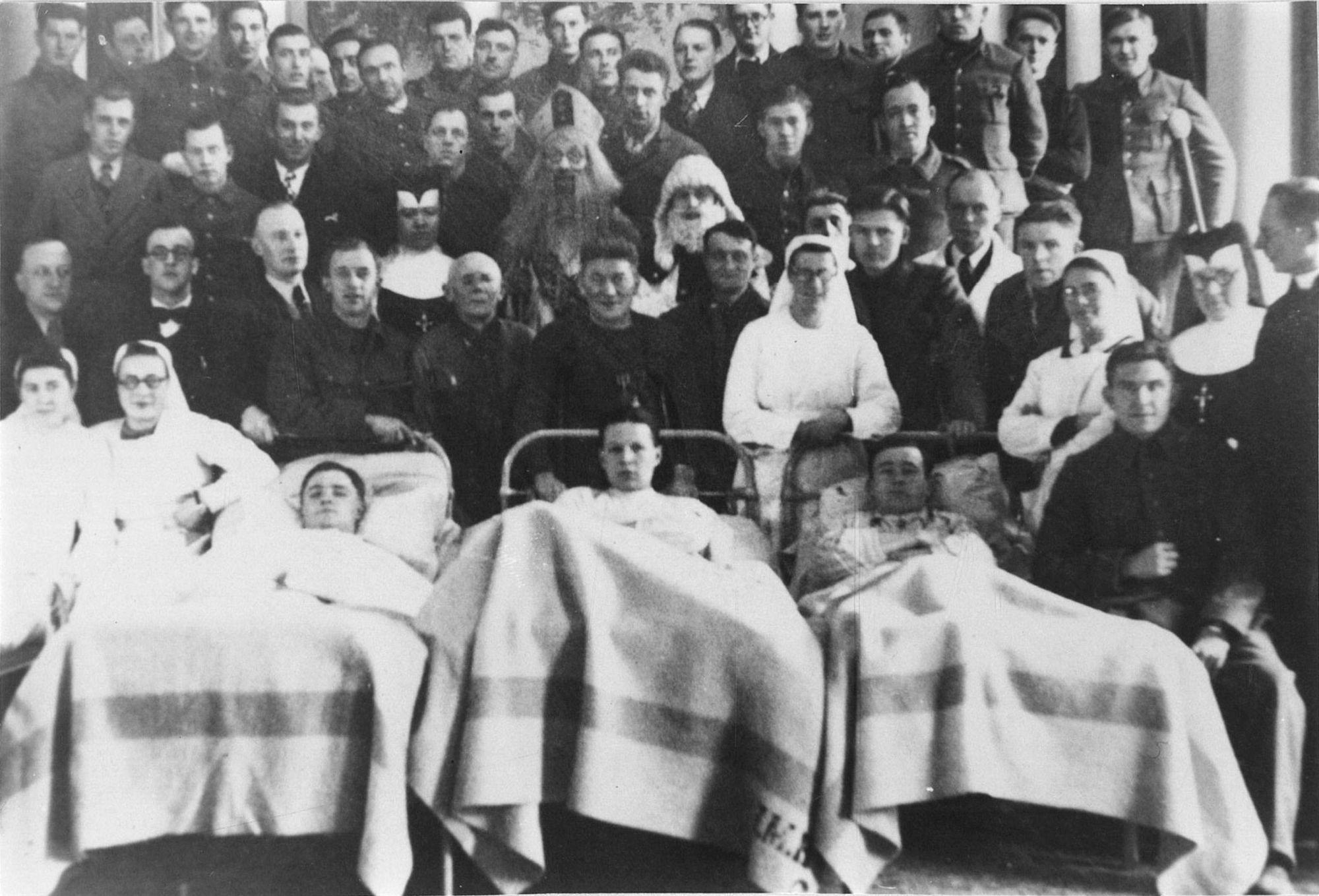 Militair hospitaal in 1940