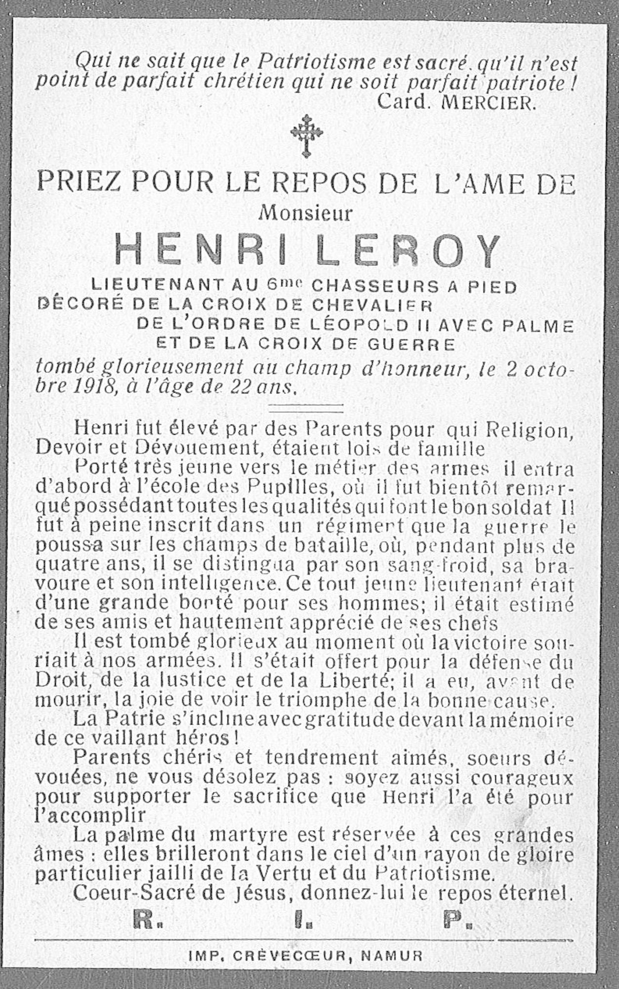 Henri Leroy