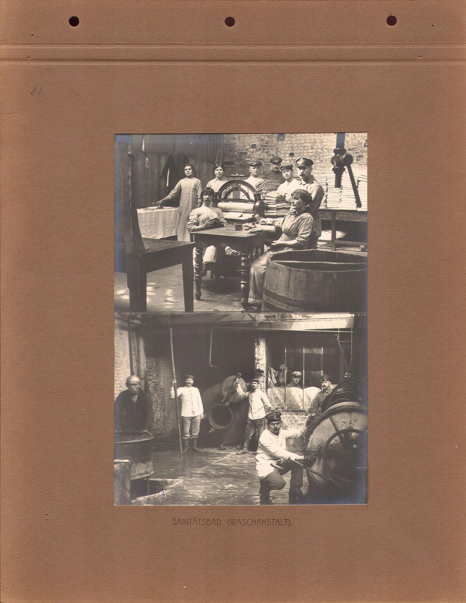 Wasserij tijdens Wereldoorlog I