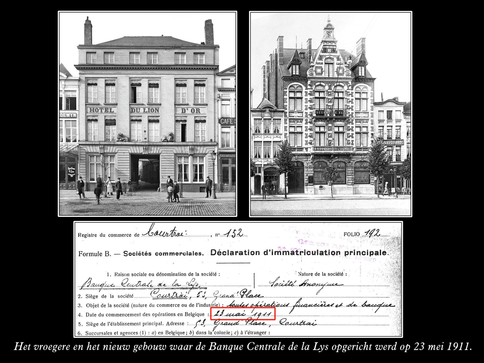 Banque Centrale de la Lys