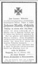 Johann Matth. Schmitz
