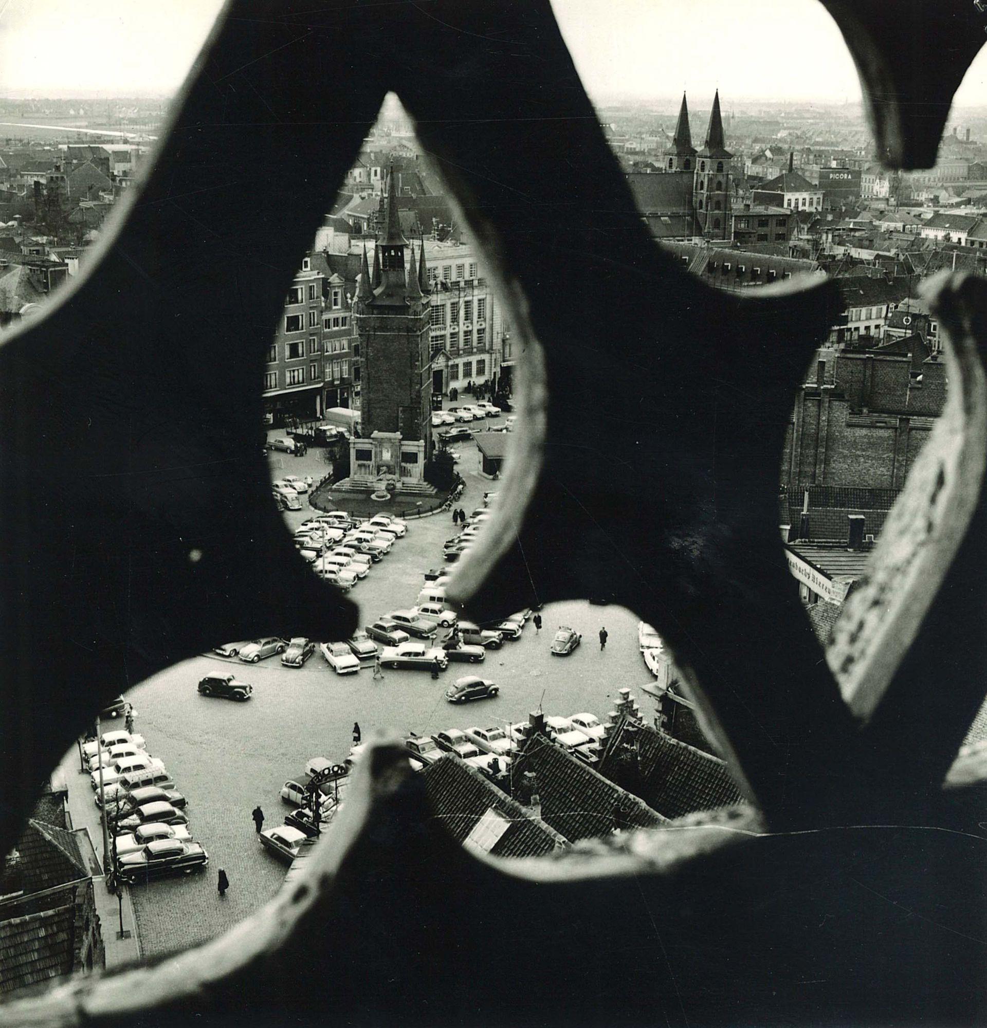 Grote Markt kortrijk 1974