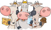 Tekening koeien