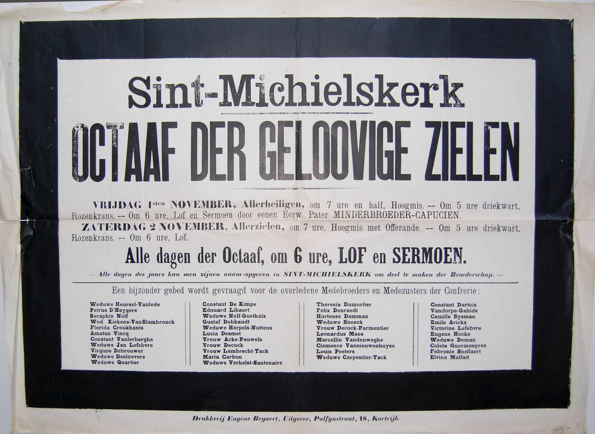 Gebedsdienst Sint-Michielskerk