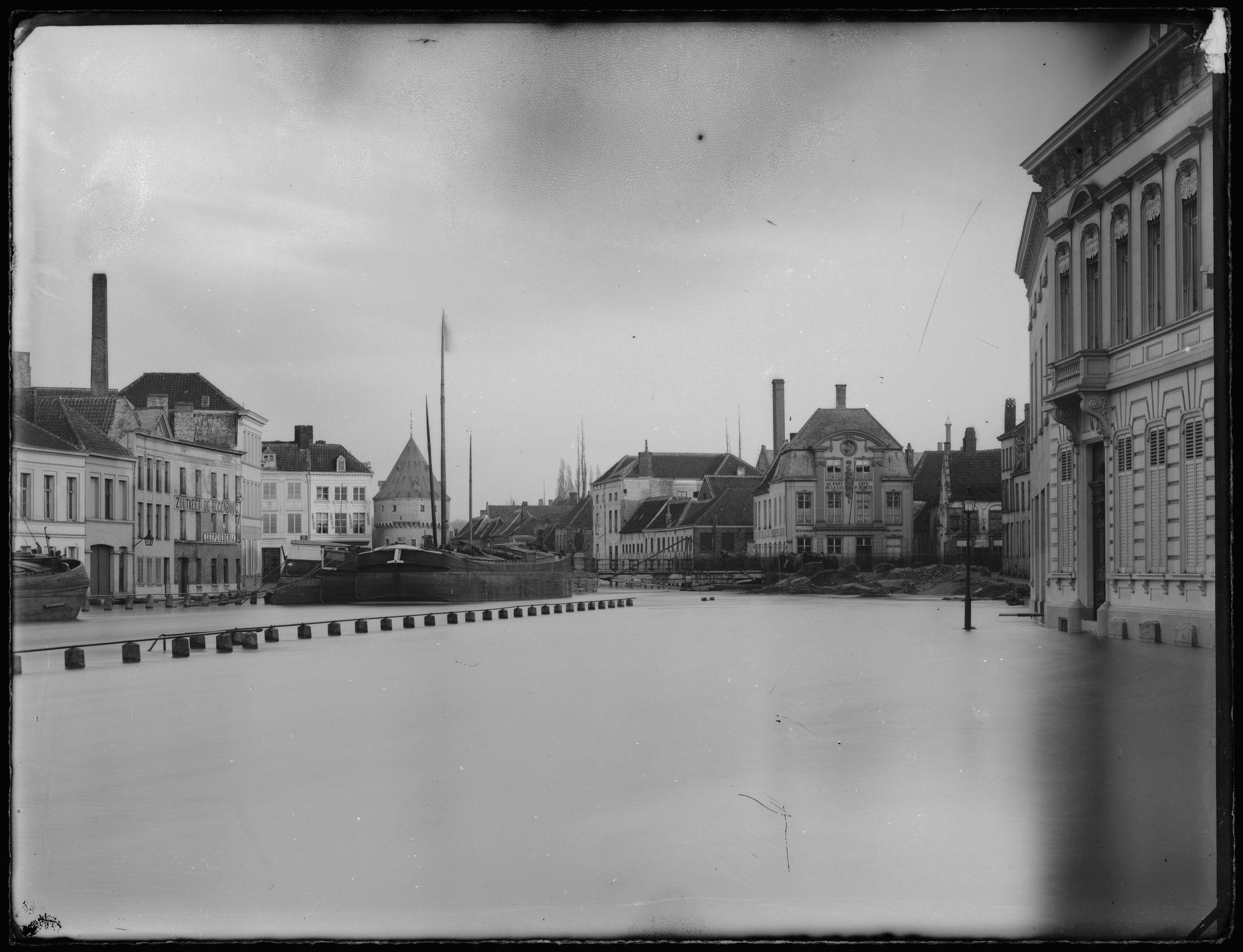 Overstroming van de Leie voor 1882