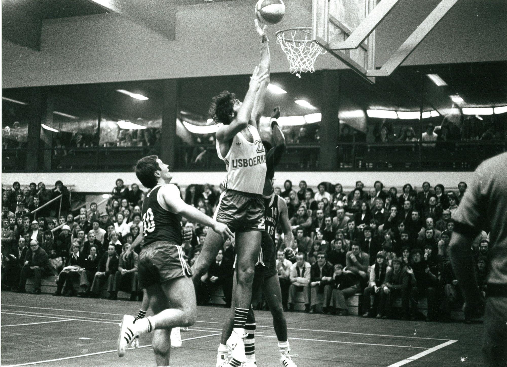 Basketmatch van Ijsboerke Kortrijk