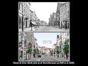 Doorniksestraat ca1930 en 2008