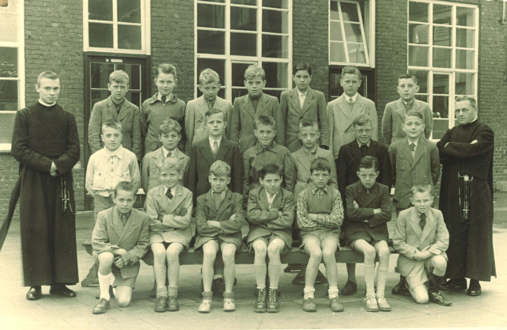 Broederschool Overleie klasfoto