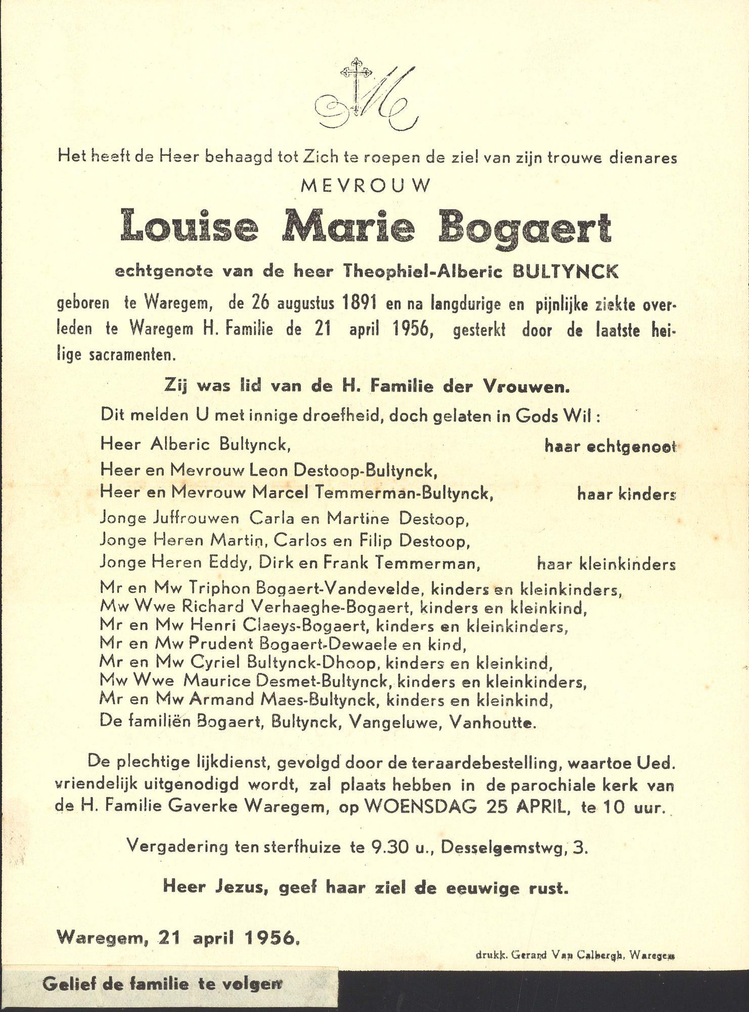 Louise Marie Bogaert