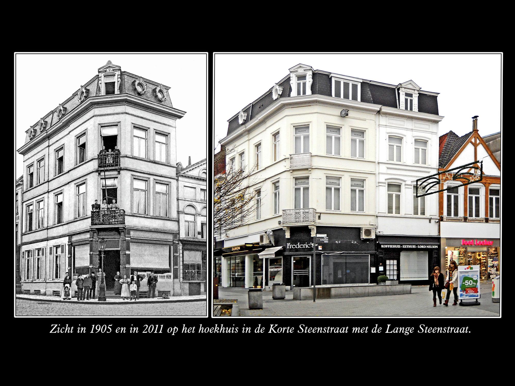 Hoek Korte Steenstraat