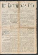 Het Kortrijksche Volk 1907-03-30