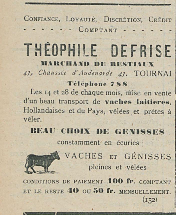 THEOPHILE DEFRISE