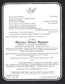 Maurice Désiré Bostoen