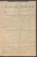 L'echo De Courtrai 1907-08-02