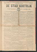 De Stad Kortrijk 1905-10-21